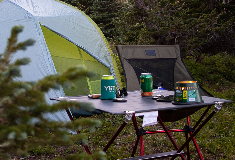 Big Agnes Woodchuck Camp Table